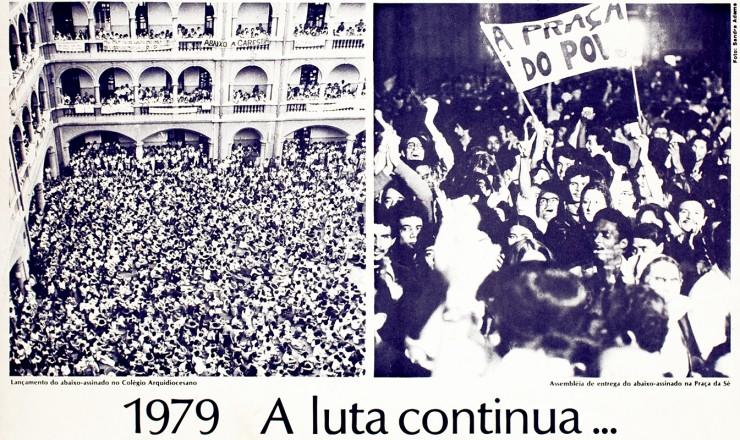 <strong> Panfleto divulga </strong> as reivindica&ccedil;&otilde;es do Movimento do Custo de Vida