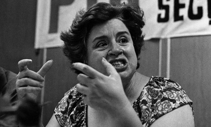 <strong> Ivete Vargas,</strong> presidente do novo PTB, legenda recriada na reforma partidária de 1980