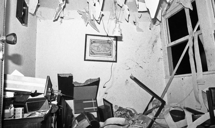 <strong> Instala&ccedil;&otilde;es da OAB-RJ </strong> destru&iacute;das pela explos&atilde;o de carta-bomba que vitimou a secret&aacute;ria Lyda Monteiro