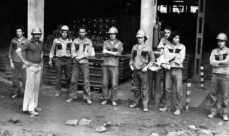 <strong> Metal&uacute;rgicos da Villares,</strong> de S&atilde;o Bernardo do Campo,&nbsp;em greve