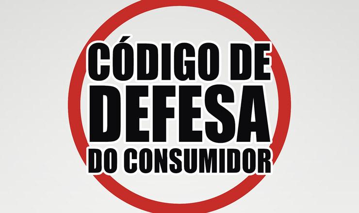 <strong> Cartaz do CDC, </strong> primeira lei a regular as relações entre consumidores e empresas