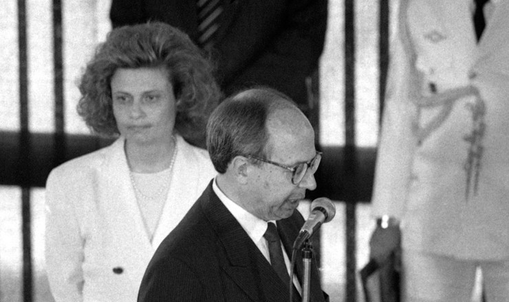 <strong> Marcílio Marques Moreira </strong> assume o ministério da Economia no lugar de Zélia Cardoso de Mello