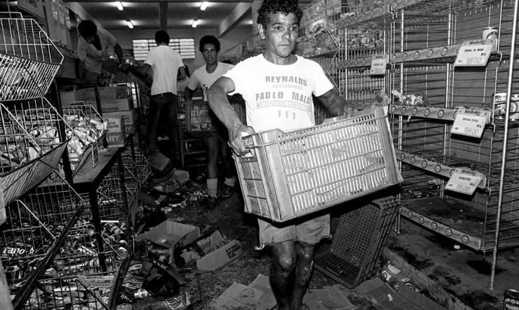 <strong> Saque de supermercado</strong> na zona sul de S&atilde;o Paulo