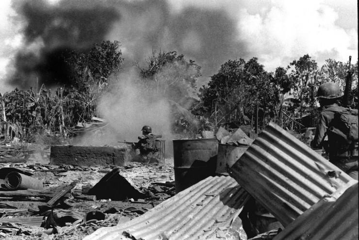 <strong> Ofensiva do Tet, </strong> que envolveu 80 mil militares norte-vietnamitas e guerrilheiros vietcongues