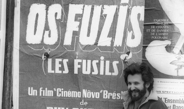 <strong> Ruy Guerra,</strong> diretor de &quot;Os Fuzis&quot;