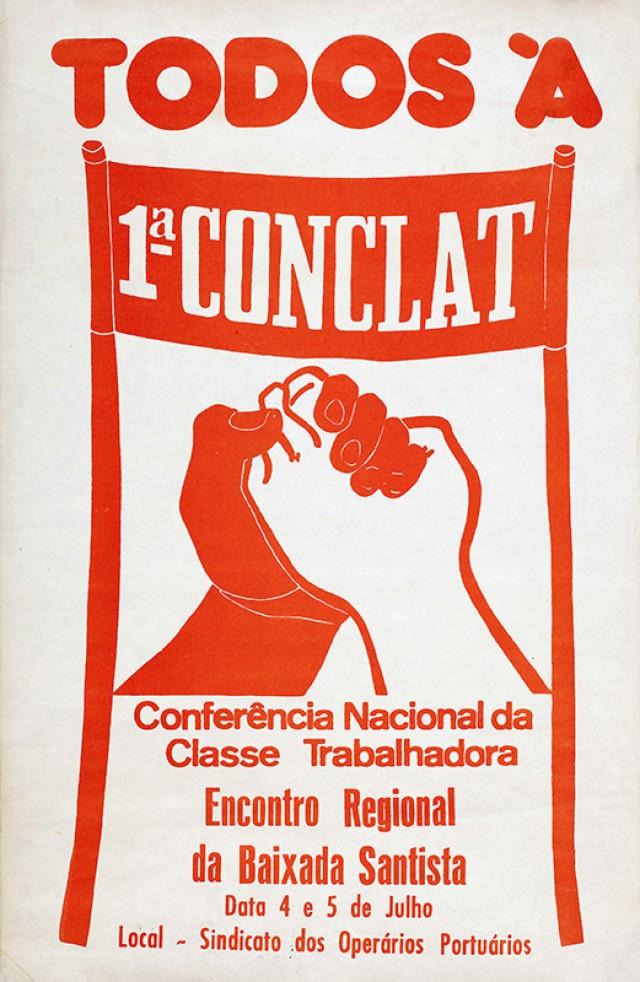 Cartaz de encontro regional da Baixada Santista
