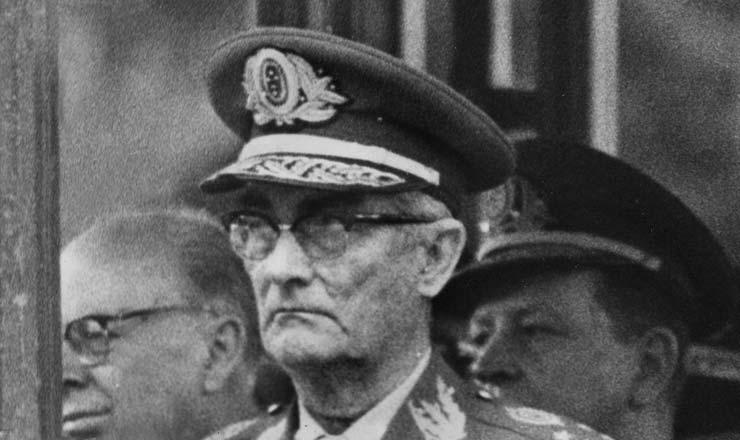 <strong> General Orlando Geisel,</strong> ministro do Ex&eacute;rcito e criador do &oacute;rg&atilde;o de repress&atilde;o militar