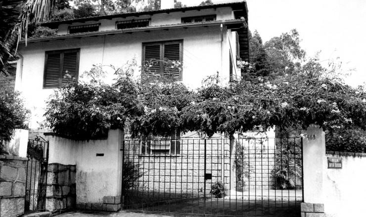 <strong> A Casa da Morte, </strong> centro clandestino de repress&atilde;o montado pelo CIE em Petrop&oacute;lis (RJ)&nbsp;