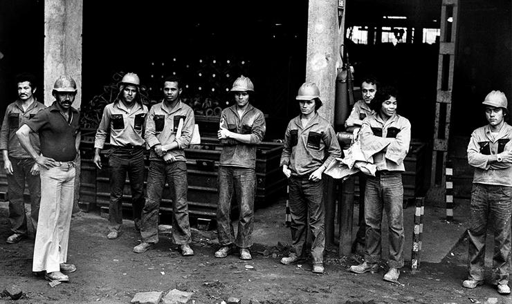 <strong> Greve 1978</strong> &ndash; Metal&uacute;rgicos da Villares durante paralisa&ccedil;&atilde;o