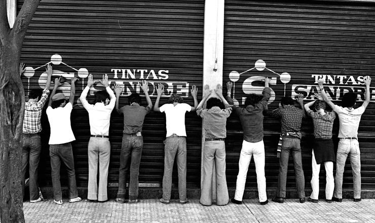 <strong> Metal&uacute;rgicos grevistas </strong> detidos pela pol&iacute;cia