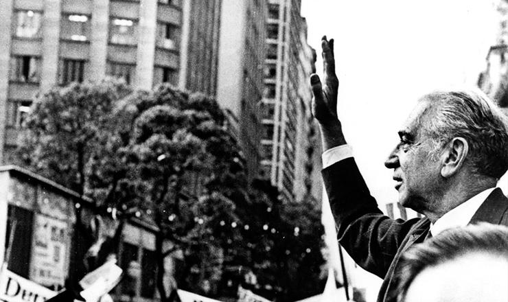 <strong> Negr&atilde;o de Lima comemora </strong> sua elei&ccedil;&atilde;o ao governo da Guanabara, em&nbsp;outubro de 1965&nbsp;