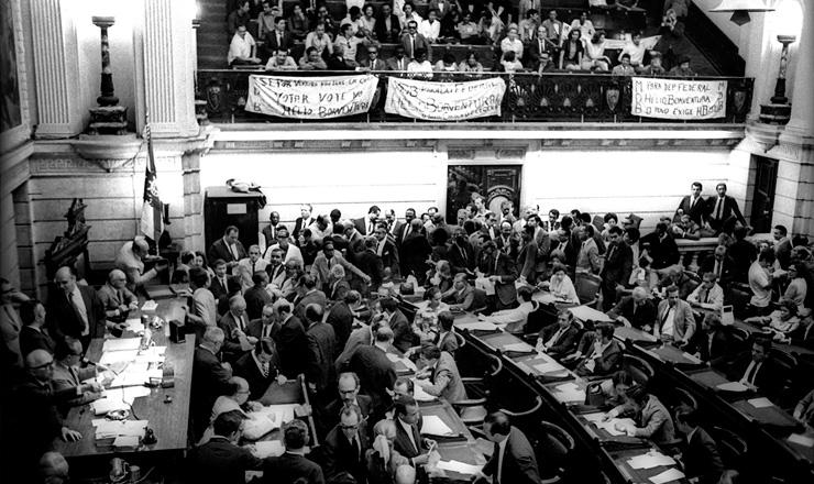 <strong> Em conven&ccedil;&atilde;o, o MDB </strong> do Rio de Janeiro escolhe os candidatos &agrave;s elei&ccedil;&otilde;es de 1970&nbsp;