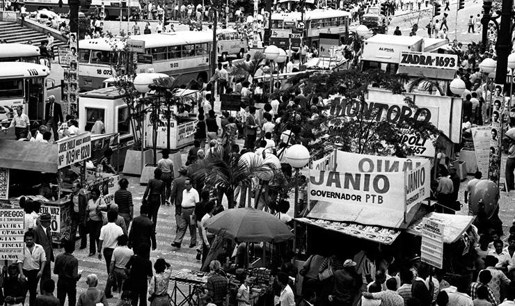 <strong> Campanha para as elei&ccedil;&otilde;es </strong> estaduais em S&atilde;o Paulo em 1982