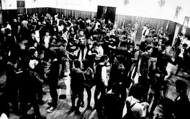 """O salão de eventos """"Templo do Rock"""" foi muito frequentado por grupos punks de São Paulo no início da década de 1980."""