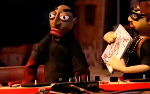 O disc jockey, conhecido pelas iniciais DJ, é o responsável pela animação musical das festas e encontros realizados em torno do Rap, bem como pela operação das mesas de som e toca-discos, conhecidos como pick-ups.
