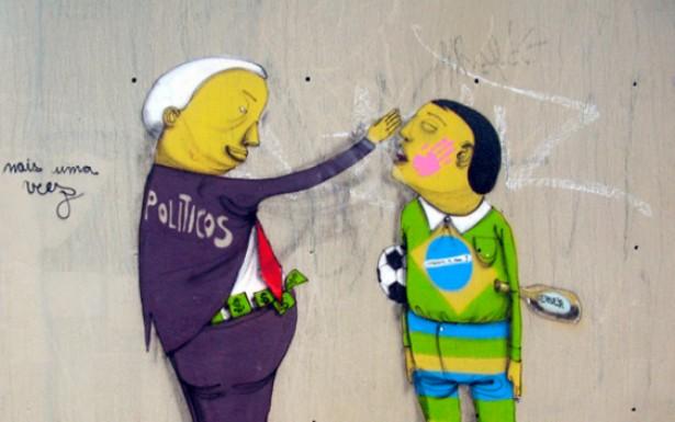 <strong> O grafite foi introduzido no Brasil no final da d&eacute;cada de 1970, em S&atilde;o Paulo</strong> . Os grafiteiros brasileiros s&atilde;o reconhecidos internacionalmente e t&ecirc;m obras expostas em galerias de arte de todo o mundo.