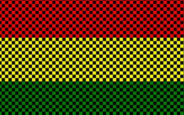 """Na canção """"Estamos em Guerra"""", o grupo Reggae Style relembra Nelson Mandela e a luta contra o apartheid, reforçando os laços de identidade dos negros brasileiros com a Mãe África."""