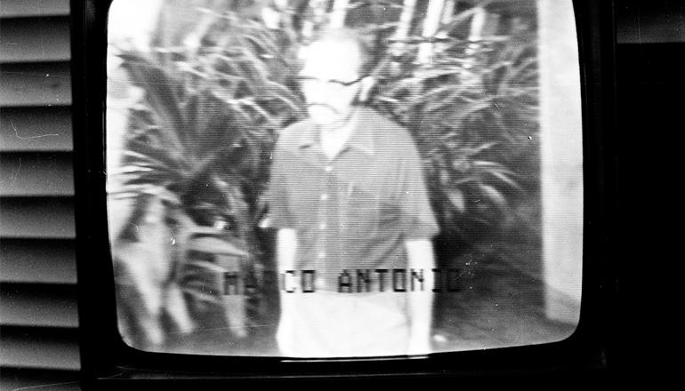 <strong> Marco Antônio Coelho,</strong> em gravação feita no quartel do 2° Exército (SP), em fevereiro de 1975