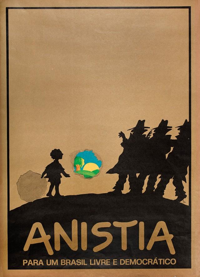 Cartaz de autoria Miguel Paiva, Milão, 1979