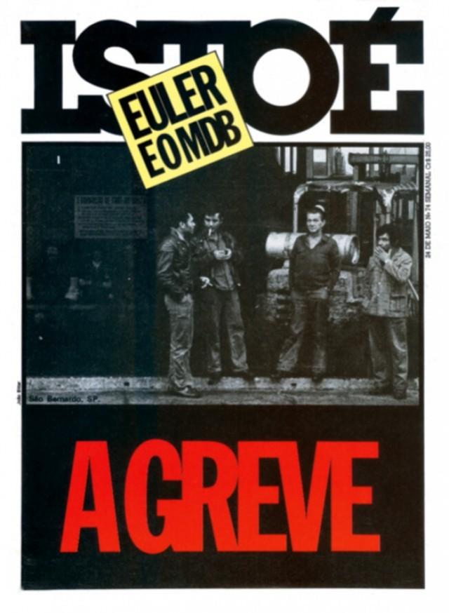 """Capa da revista """"IstoÉ""""destaca a greve que paralisou empresas da região do ABC"""