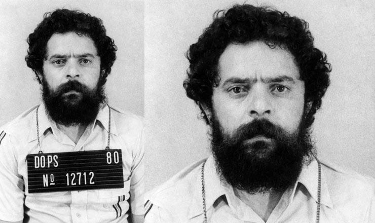 <strong> Lula presoe fichado</strong> pelo Dops de São Paulo