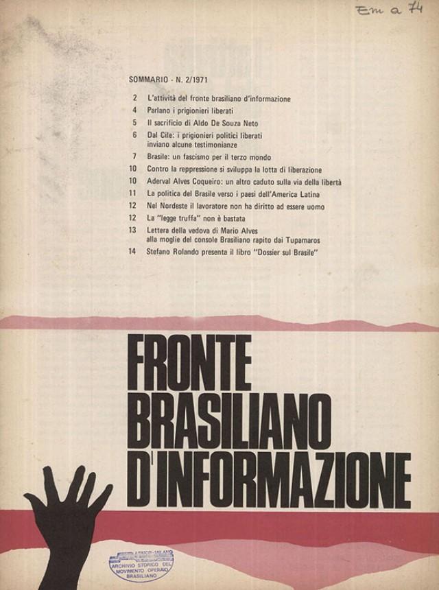 Na Itália, o boletim da FBI ajudava a denunciar torturas e assassinatos cometidos pela ditadura brasileira