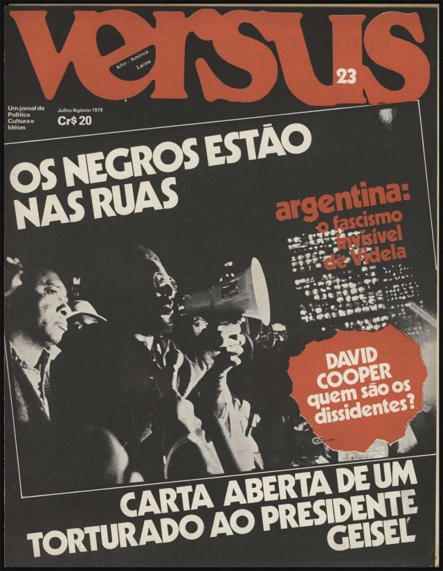 Reportagem de Hamilton Bernardes Cardoso sobre a articulação dos ativistas negros para a manifestação em São Paulo e a criação do Movimento Negro Unificado