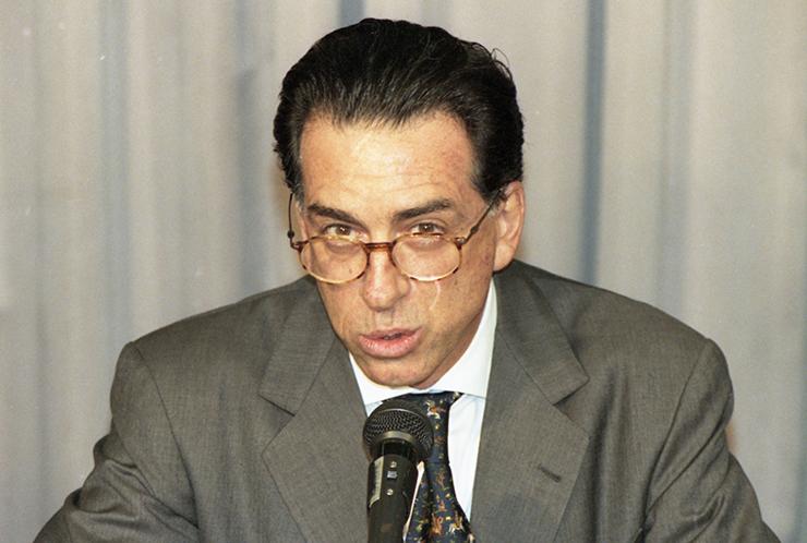 <strong> Salvatore Alberto Cacciola, </strong> banqueiro &iacute;talo-brasileiro, dono do falido Banco Marka e que foi condenado por crimes contra o sistema financeiro  &nbsp;