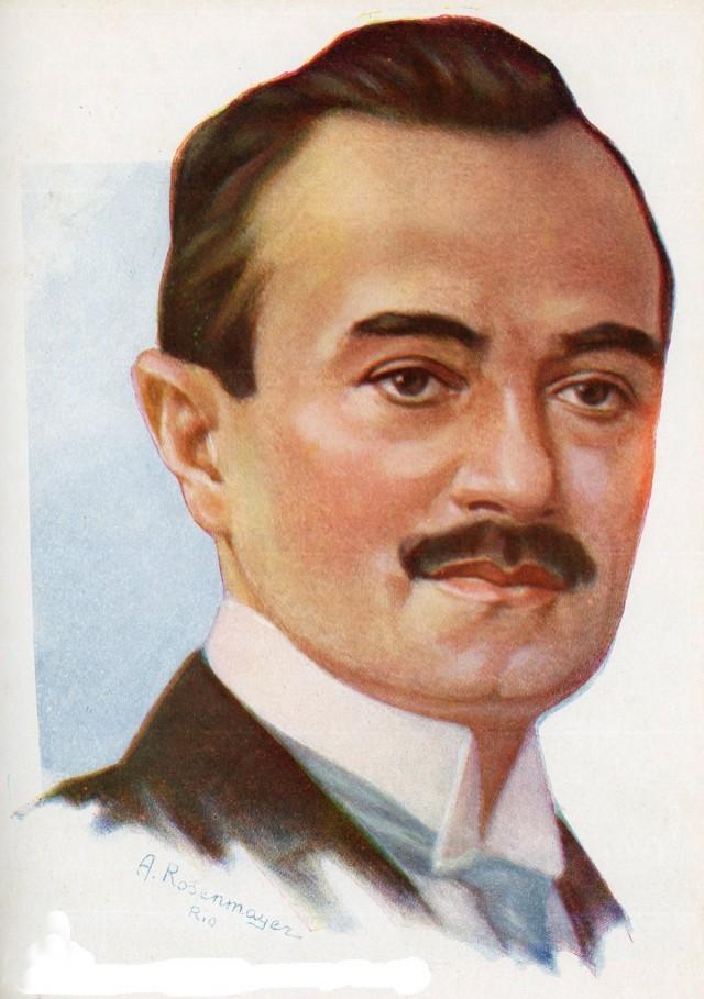 """João Pessoa, em ilustração da revista """"O Cruzeiro"""", edição especial de dezembro de 1930"""