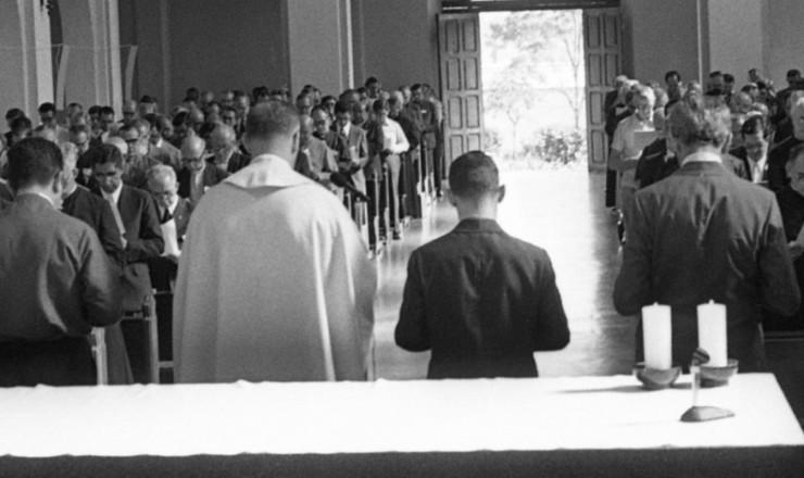 <strong> Missa de abertura</strong> da 15&ordf;&nbsp;Assembleia da CNBB, em Indaiatuba (SP)
